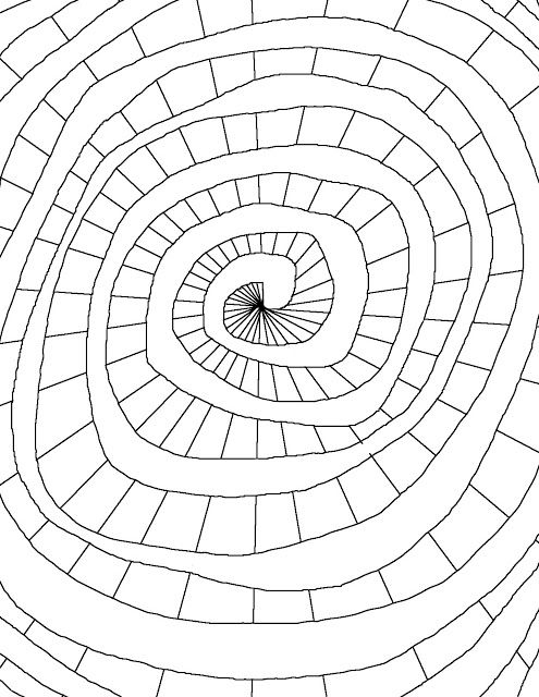 Color Spiral Shape Coloring Pages Coloring Pages