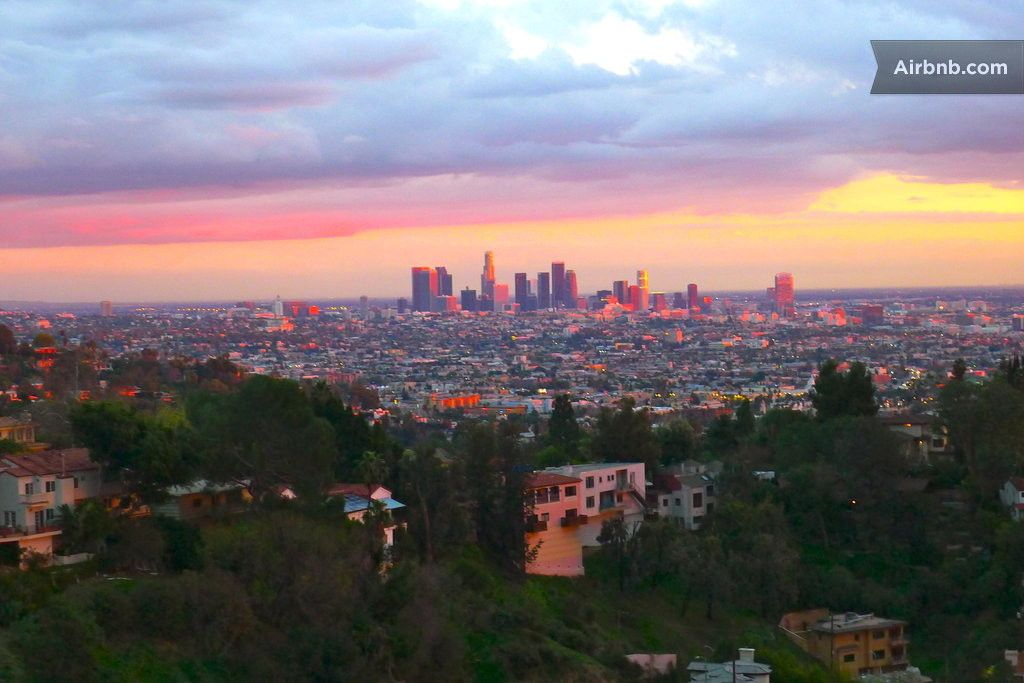 City view hollywood hills studio in los angeles city