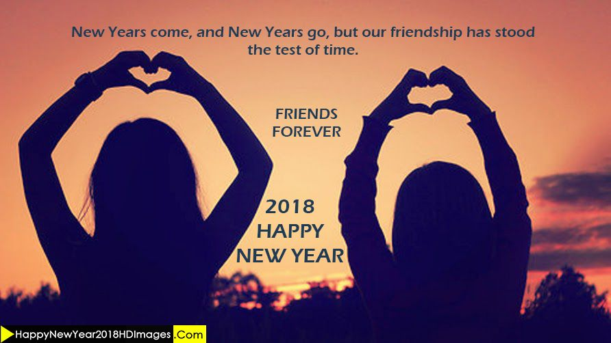 happy new year 2018 wishes for best friends