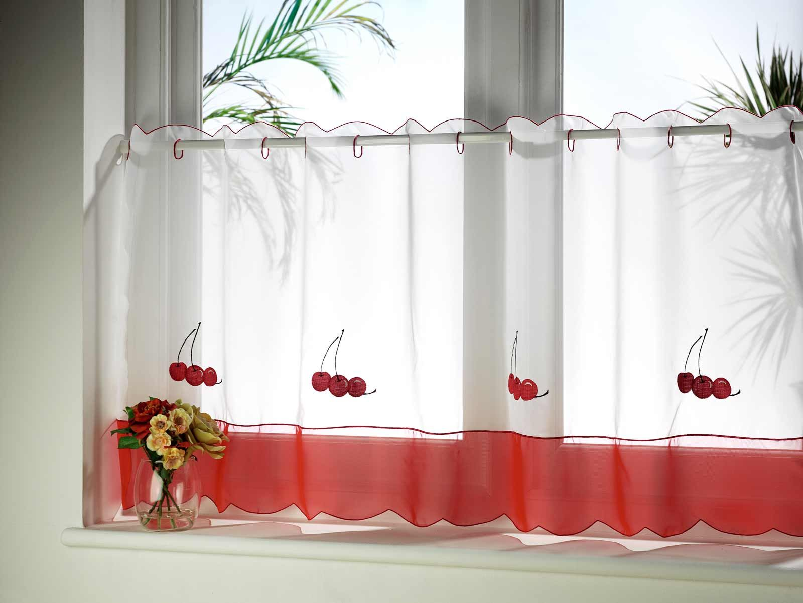 Spotlight Eyelet Curtains Colorful Home Kitchen Cafe Curtains Blinds And Drapes