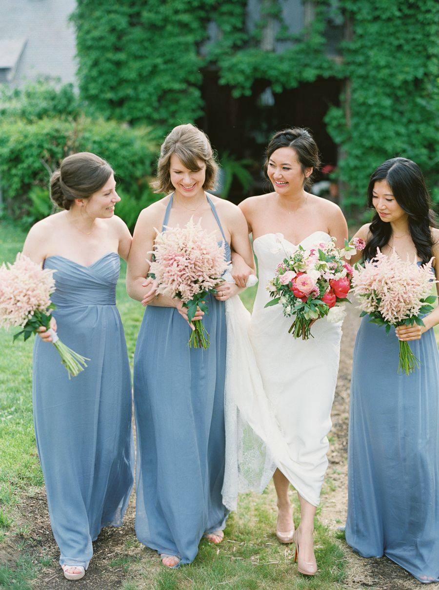 Elegant Spring Wedding at Blue Hill | Florists, Vaulting and Peonies ...