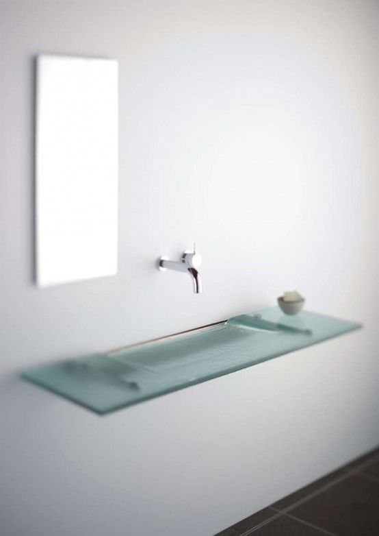 33 Bathroom Sink Ideas To Get Inspired From Glass Bathroom Sink