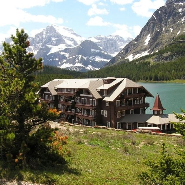 Many Glacier Hotel :) loved this place too!