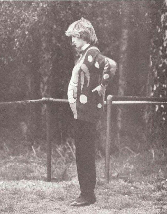 Princesa Diana esperando asuprimogénito, 1982.
