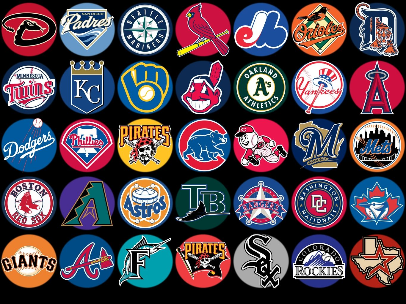 Gallery For Mlb Team Logos Clip Art Mlb Team Logos Baseball Teams Logo Mlb Teams