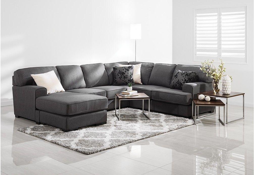 Betty Fabric 6 Seater Corner Lounge Suite | Super Amart | home ideas ...
