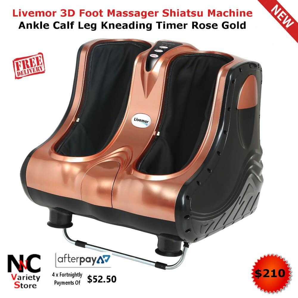 Features 360 degree alldimensional massage foot or leg