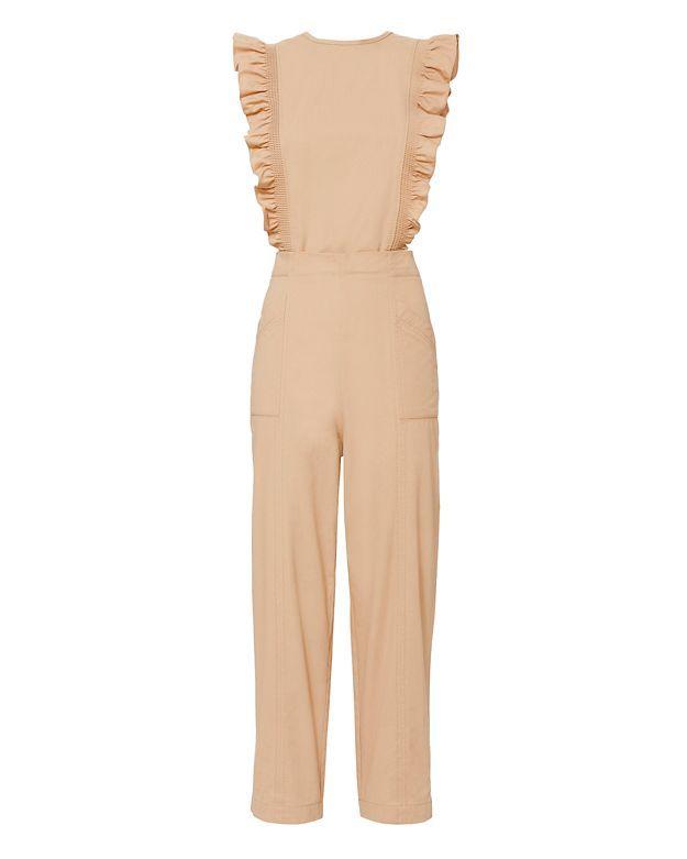 0e09fd02ec6 GANNI Phillips Ruffle Jumpsuit.  ganni  cloth  jumpsuit