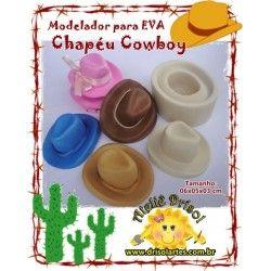 Modelador Chapéu COWBOY