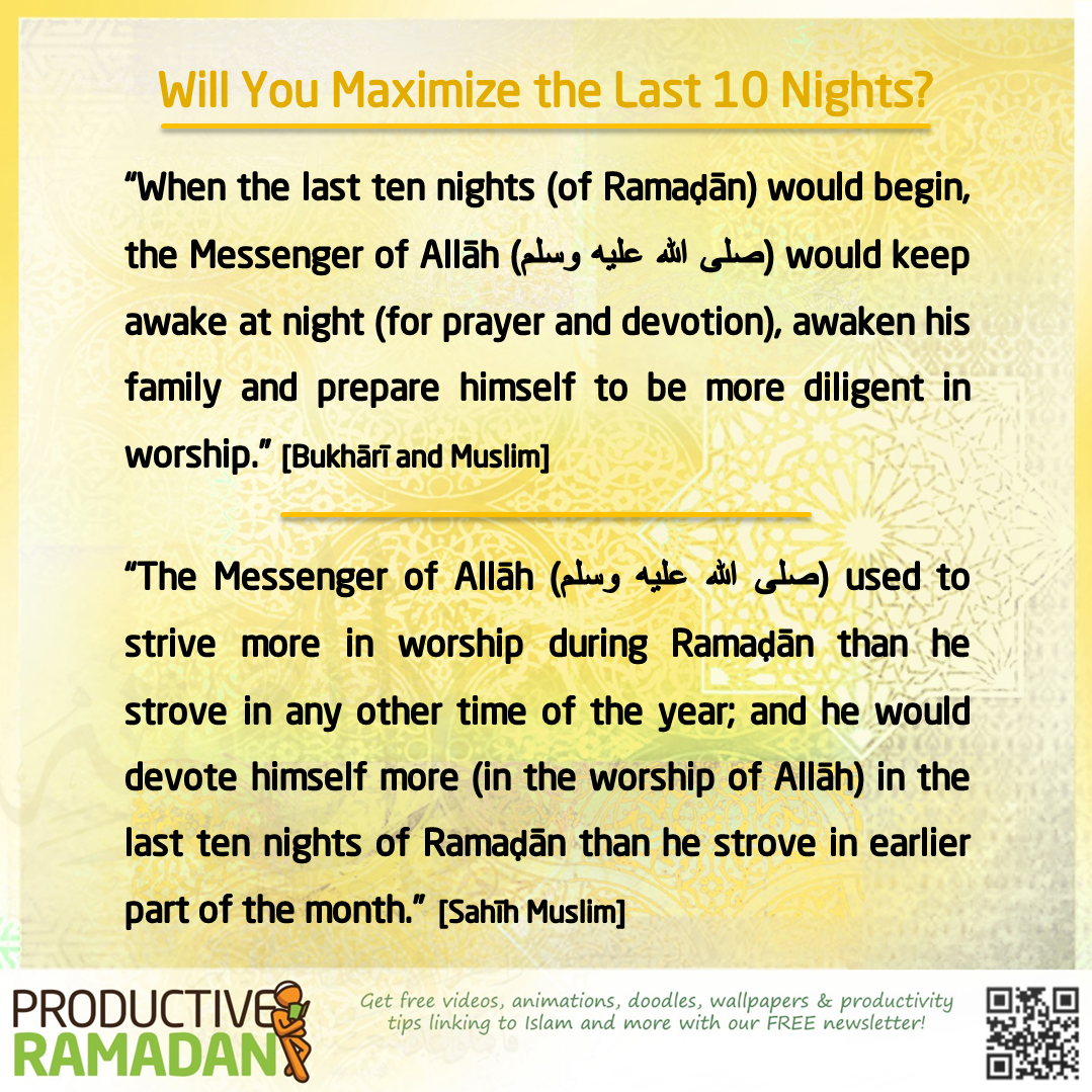 """Remember That """"The Night Of Decree Is Better Than A"""
