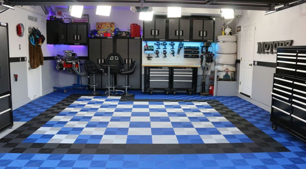 Best Garage Floor Tiles: Ribtrax | Swisstrax Event & Garage Flooring