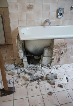 Badezimmer selbst renovieren: vorher/nachher in 2018   Badezimmer ...