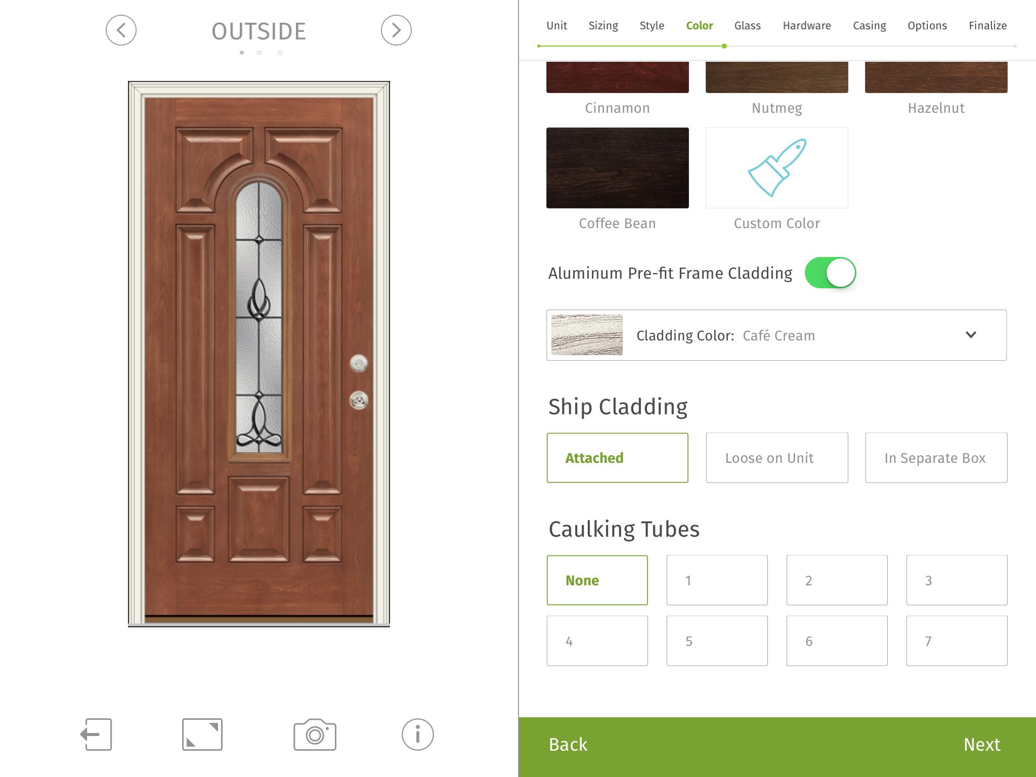 Using Provia S Home Exterior Design Ipad App Homeowners