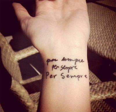 Épinglé par tattoo egrafla sur tatouage phrase en italien