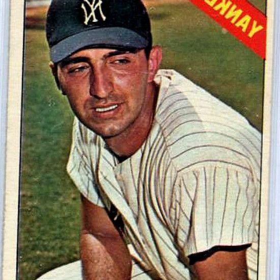 Sports Collectiblebid 1966 Topps 79 Joe Pepitone New York Yankees