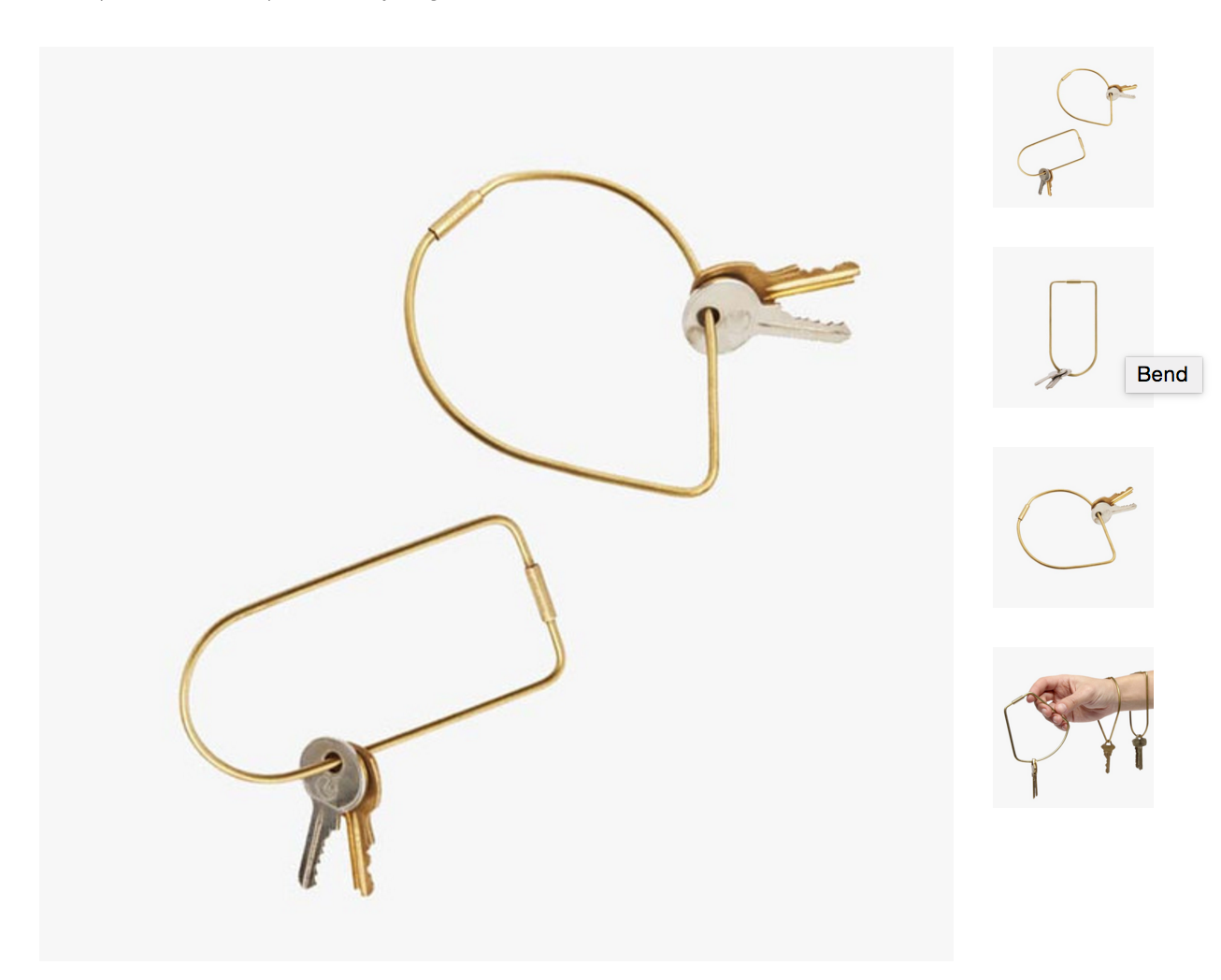 keychain options urban outfitters