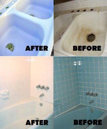 Armorpoxy Bath Sink And Tile Epoxy Refinishing Kit White