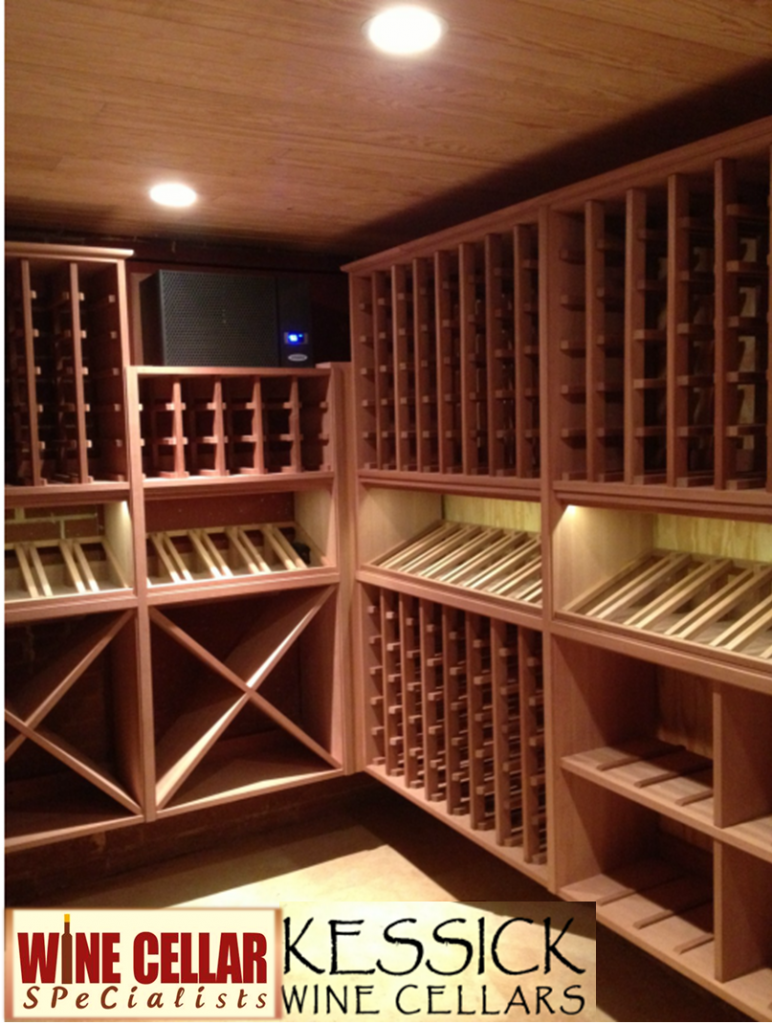 Wine Rooms Contemporary Wooden Wine Cellar Racks From Kessick