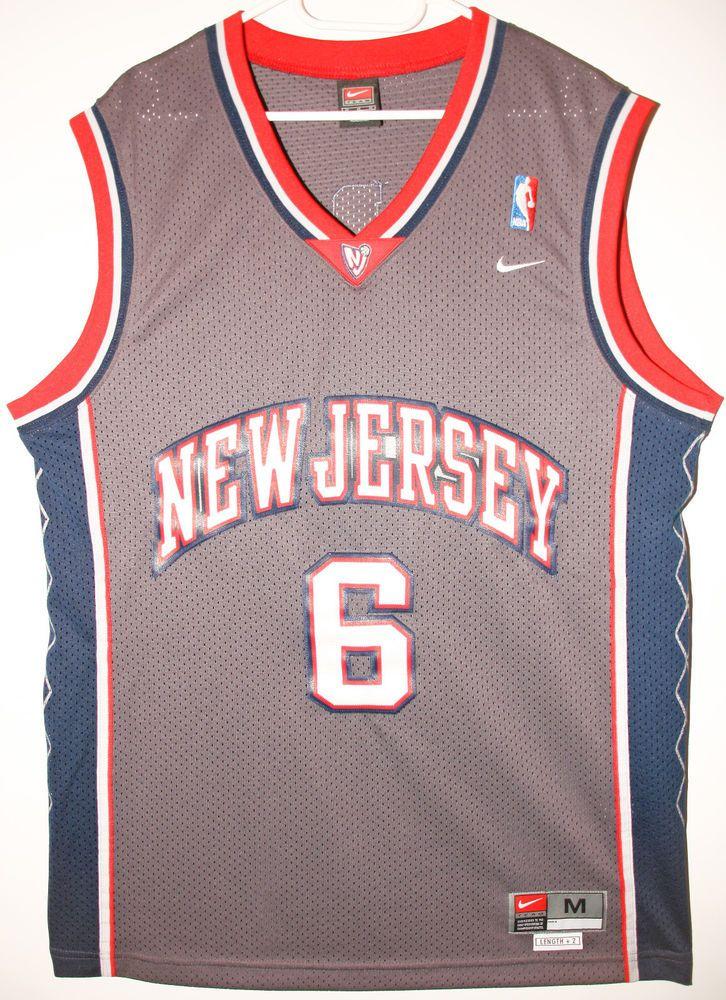 Nike NBA Basketball New Jersey Nets  6 Kenyon Martin Trikot   Jersey Size  40 - Größe M - 89 9790d6464