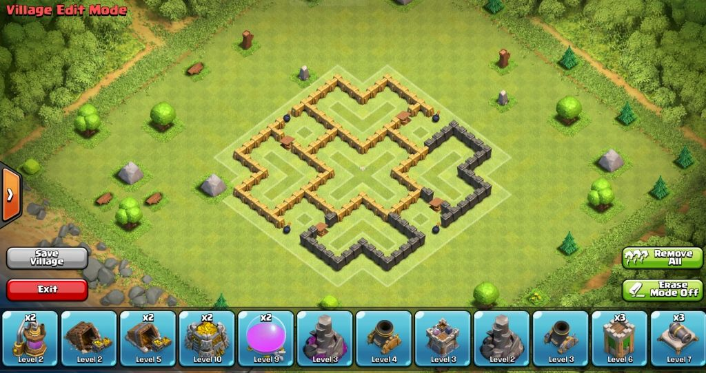 clash of clans war base town hall 5 awesome gallery www mobilga