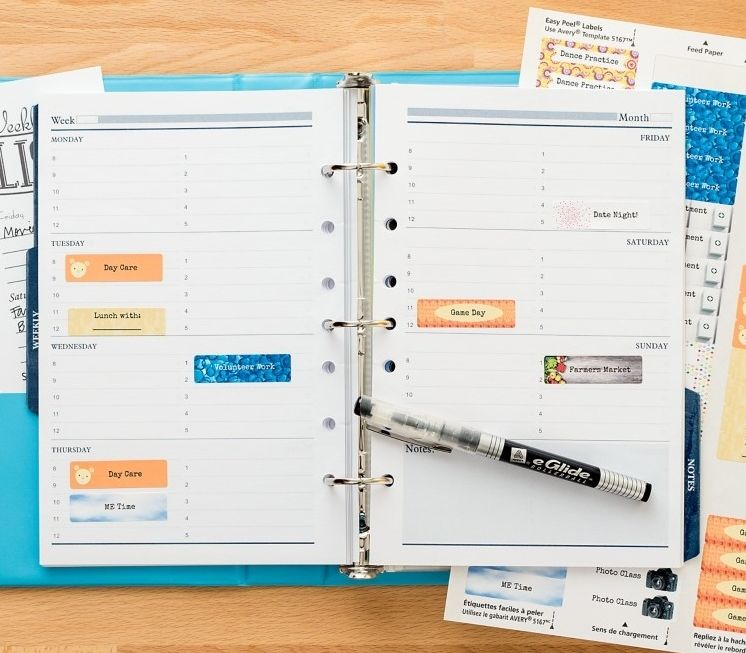 Keep Your Planner Neat And Organized With Personalized Stickers We