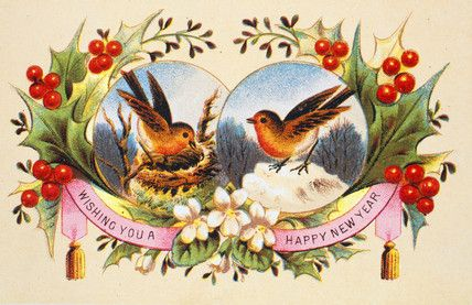 victorian christmas images   Victorian Christmas Card   Vintage ...