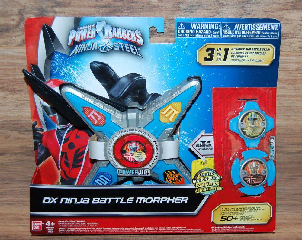 Power Rangers Ninja Steel Dx Battle Morpher