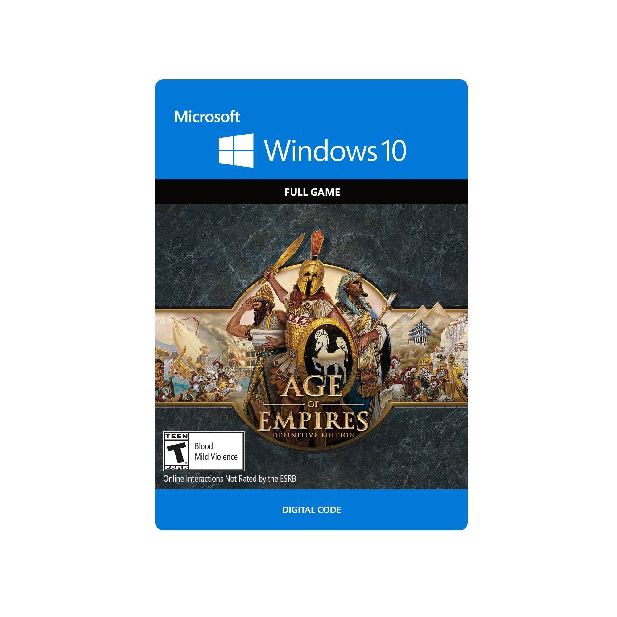 Age of Empires Definitive Edition PC Game (Digital