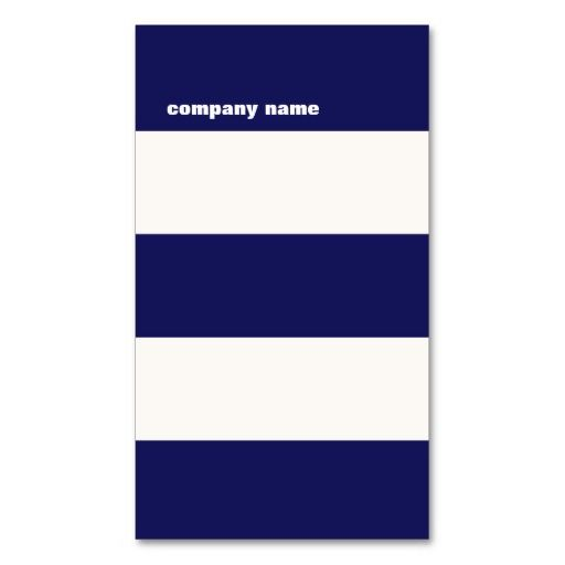 Modern dj hip navy blue and white stripes business cards business modern dj hip navy blue and white stripes business cards reheart Images