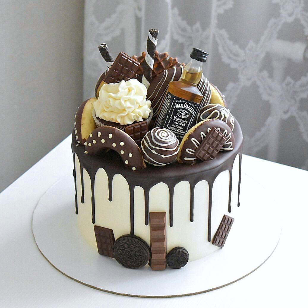 Тортяо Birthday cake for him, Birthday cake chocolate