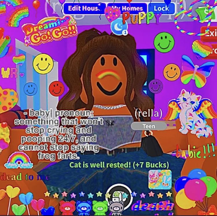 Pin By Sashanelson On Aesthetic Roblox Roblox Pictures Indie Room Unicorn Names