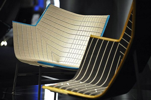 Paper Planes Armchair With Swarovski Elements   Doshi Levien