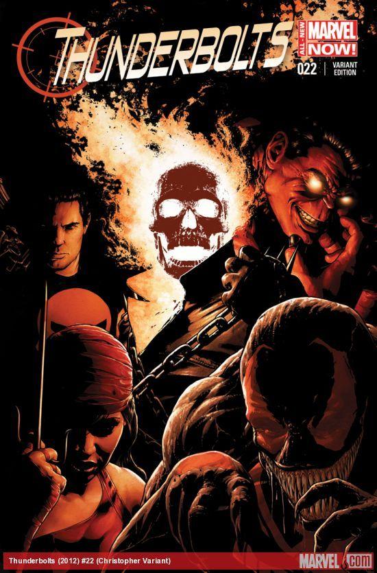 Thunderbolts #22 (Christopher Variant)