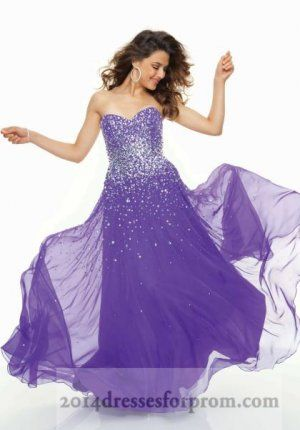 Long Purple Sparkly Prom Dresses Mori Lee 95090 | long prom ...