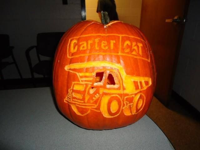 #ThrowbackThursday Check out the pumpkin carving skills of Carter Technician, Chris Smith and his wife Rona!