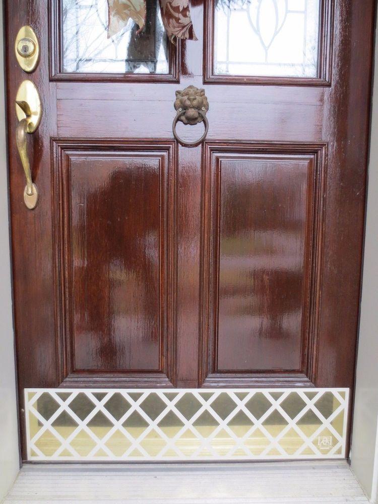 Door Kick Plate Kickplate Front Door Hardware Custom