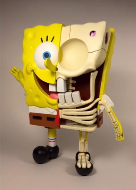 10 Esculturas que muestran la anatomía de personajes animados por ...