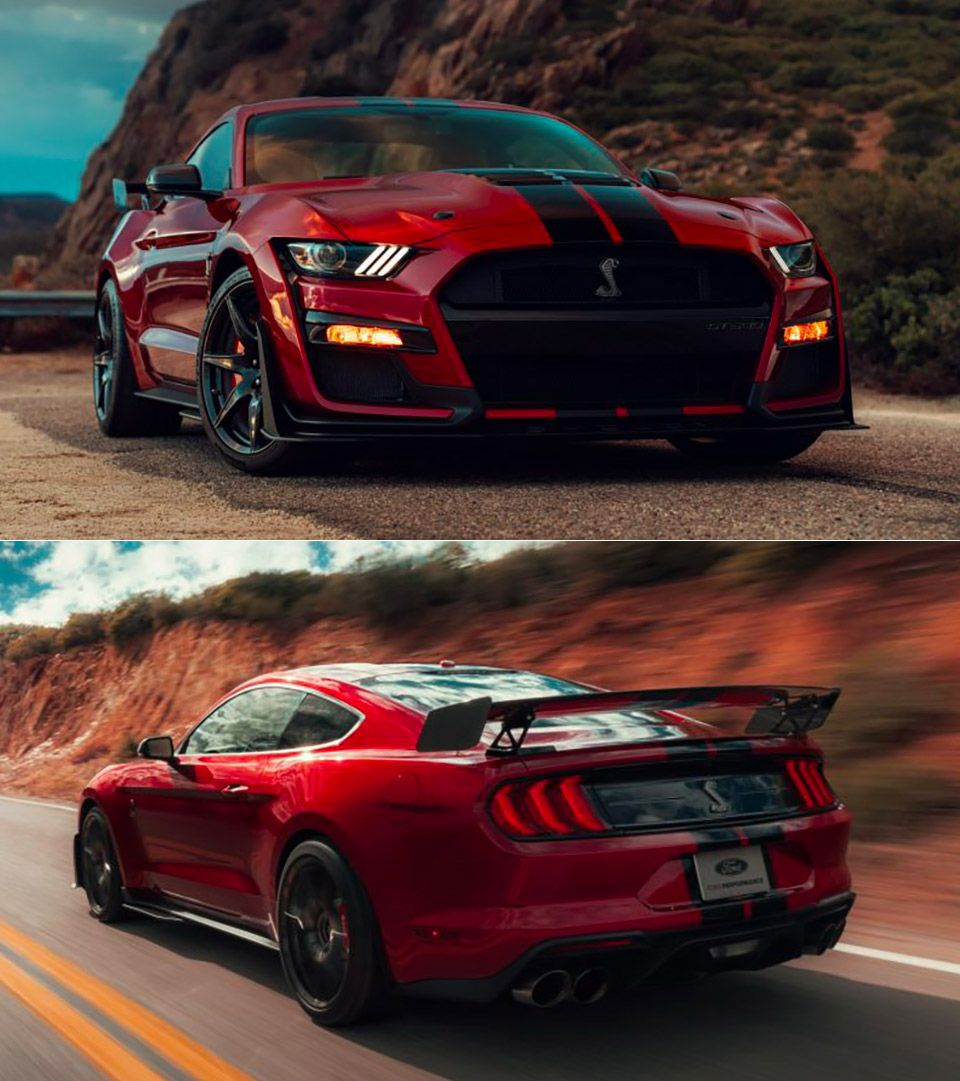 The 2020 Ford Mustang Shelby Gt500 Is Here And It S Powerful Mustang Gt500 Ford Mustang Shelby Gt500 Mustang Shelby