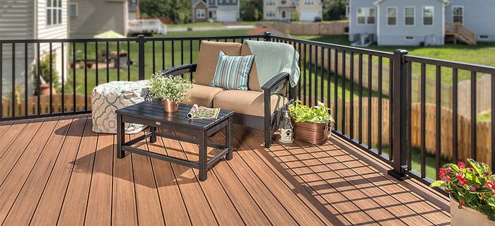 Wpc Wood Plastic Composite Flooring Four Advantages Of Wpc Flooring Trex Outdoor Furniture Patio Outdoor Deck