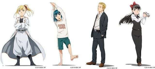 Image result for hinamatsuri anime