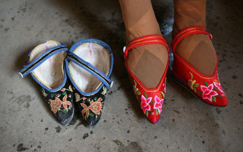 China S Last Foot Binding Survivors Feet Chinese Women Christian Louboutin Pumps