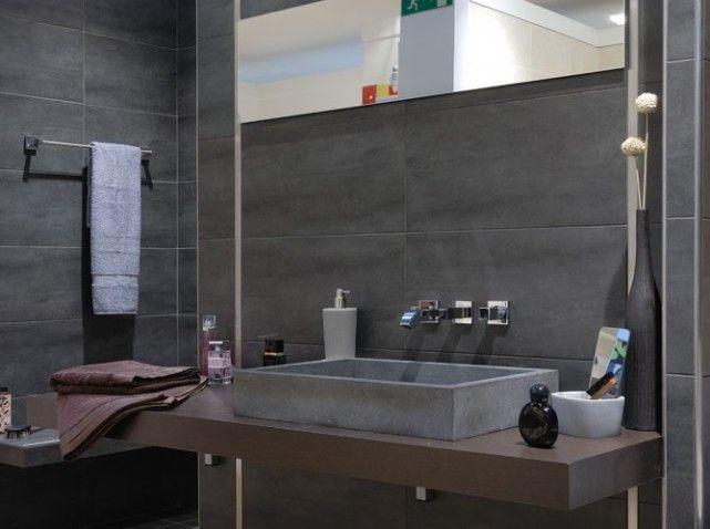 déco salle de bain grise | Idées pour la maison | Pinterest ...