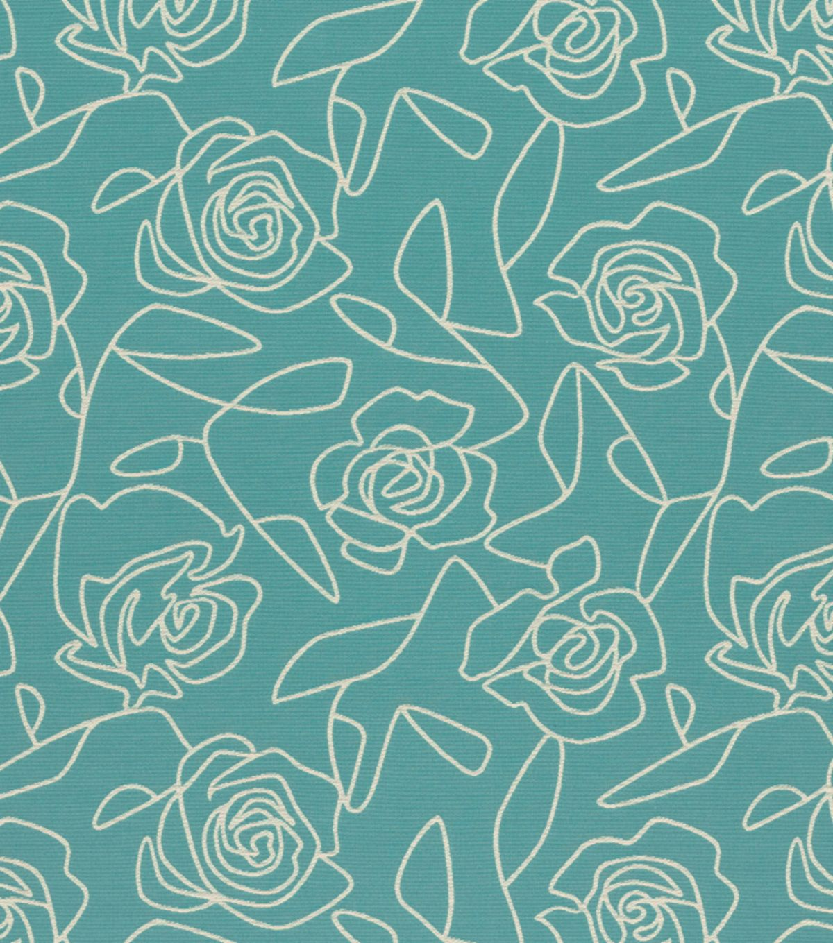 Crypton Upholstery Fabric 54 Bed Of Roses Blue