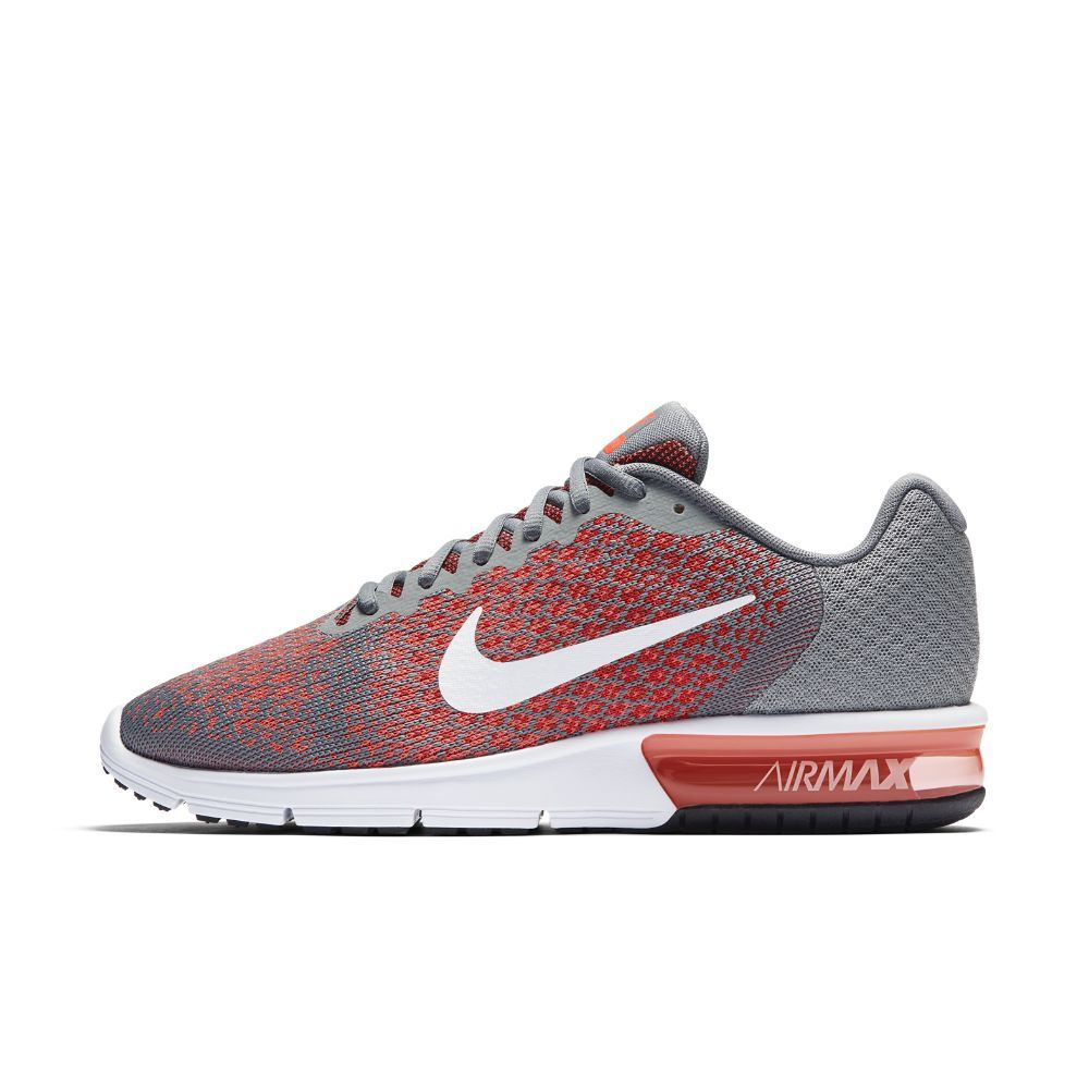 various colors 43c67 bfaef Nike Air Max Sequent 2 Men s Running Shoe Size 10.5 (Grey) - Clearance Sale