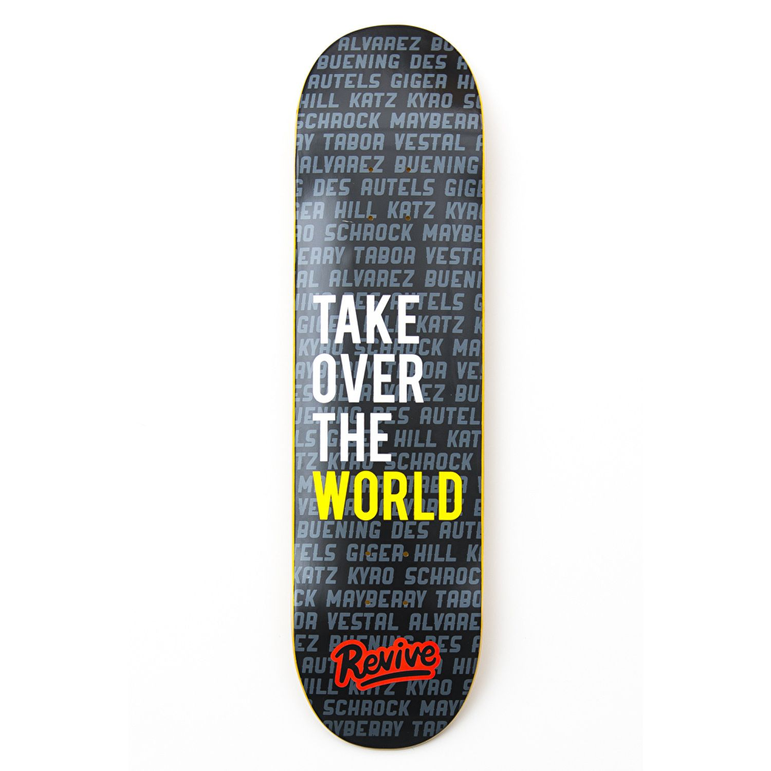 1d0752f4 ReVive Take Over The World Skateboard Deck | Skateboarding ...