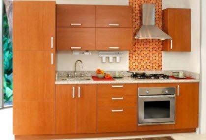 Cocinas integrales peque as buscar con google cocina for Gabinetes de cocina pequena