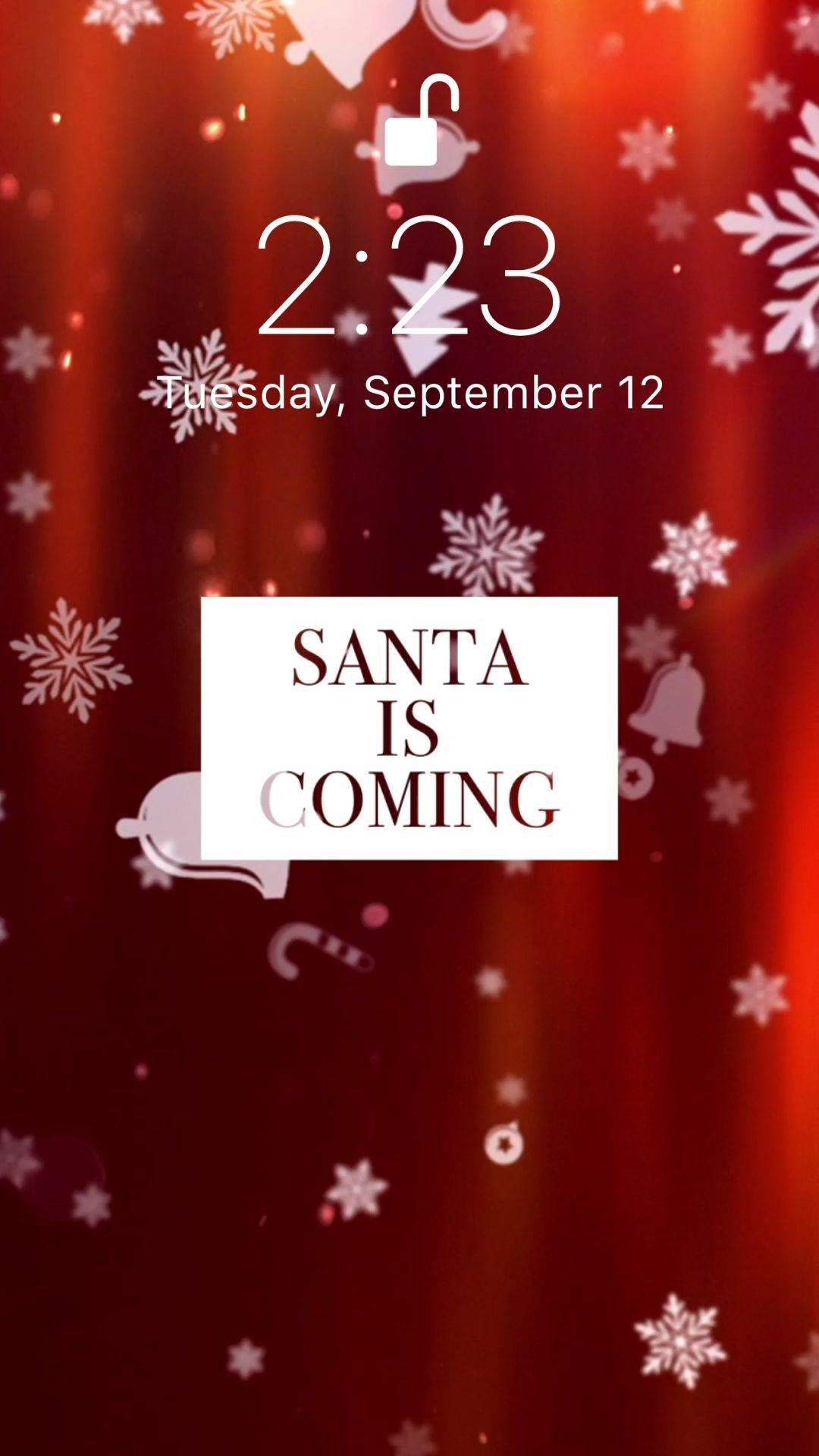 Santa is coming��