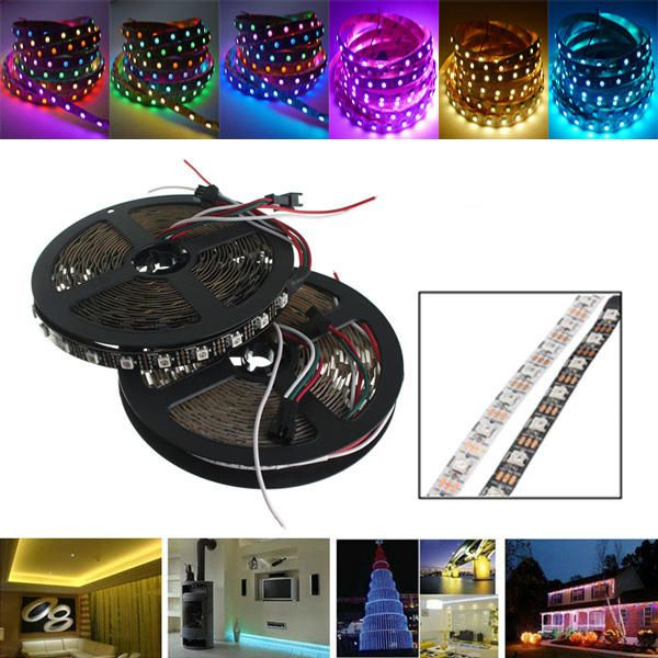 5m ws2812 ic smd5050 300 led rgb strip light lamp non waterproof 5m ws2812 ic smd5050 300 led rgb strip light lamp non waterproof dream color individual mozeypictures Choice Image