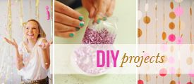 neutrals and neon plus lots of DIY pretty projects for baby
