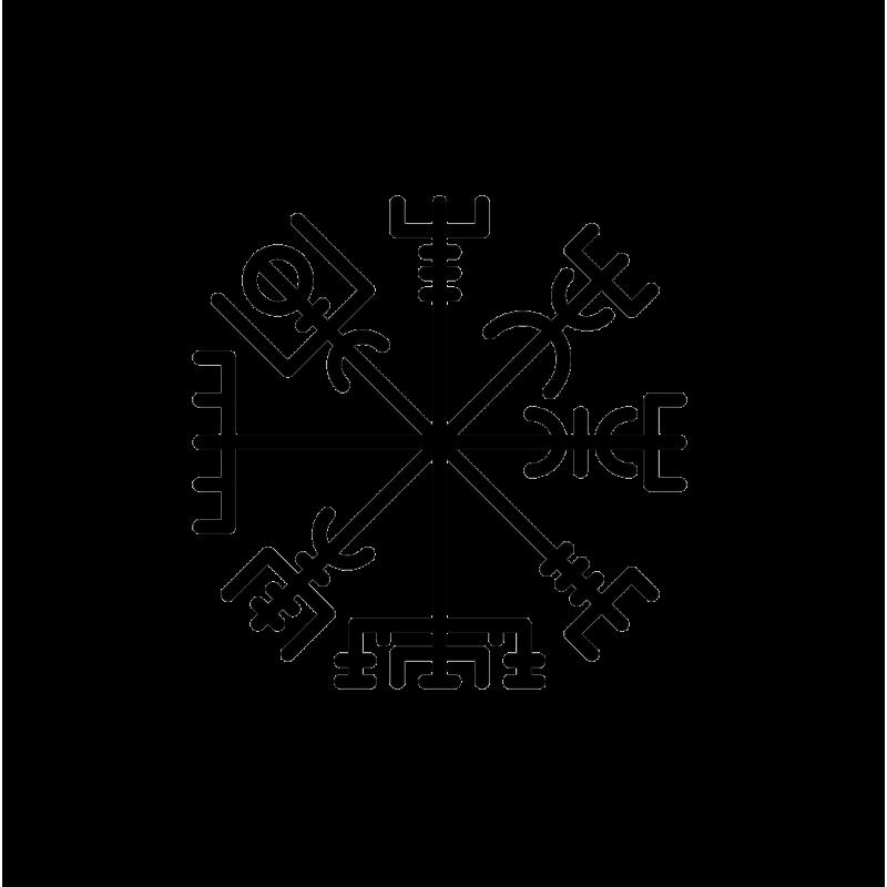 viking rune vegvisir talisman vinyl decal sticker auto electricalpin by jacqueline taylor on wiccan